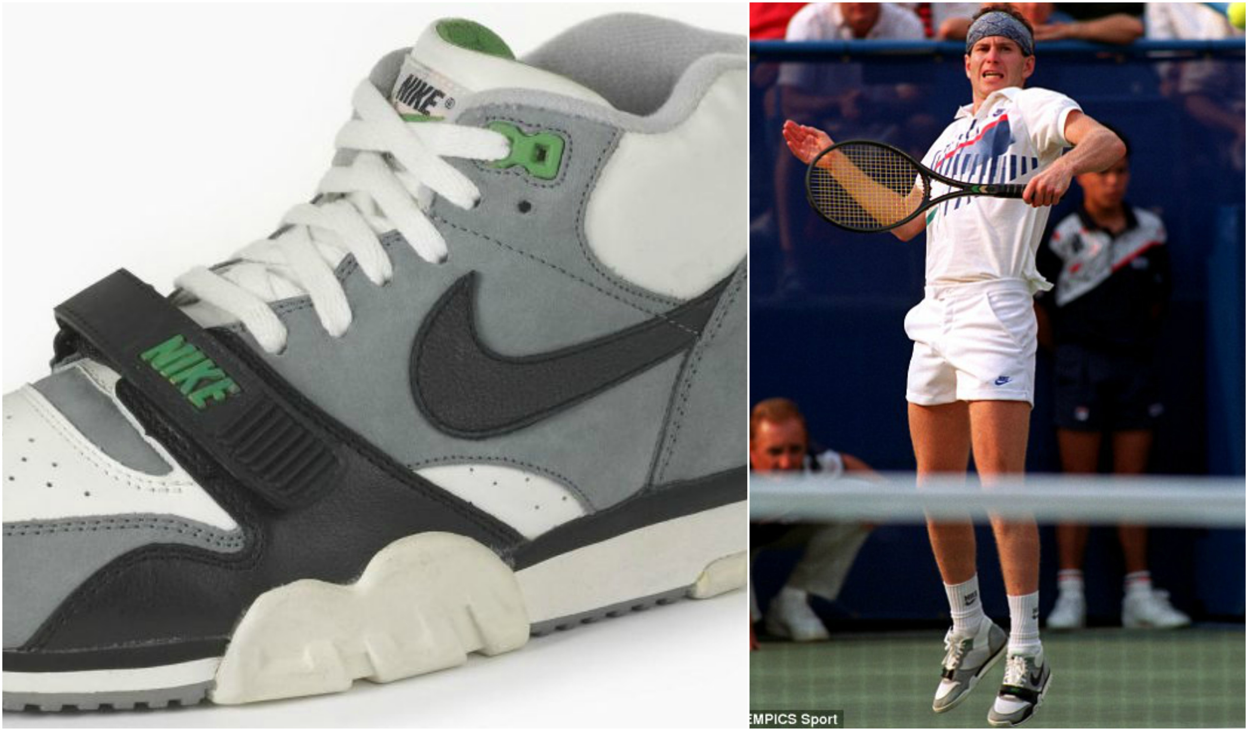 By the time 1990 came around, John McEnroe was in the twilight of his  singles career but his apparel on the other hand was just heating up. The  Nike kit ...